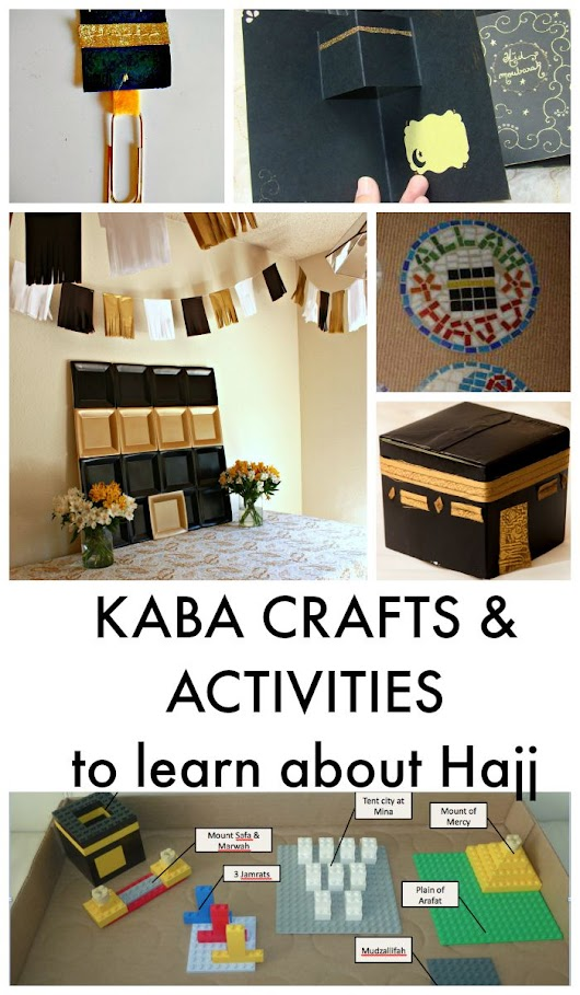 Eid Al Adha and Hajj Crafts for Kids - In The Playroom