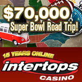 Intertops Casino Giving 70K in Super Bowl casino bonuses