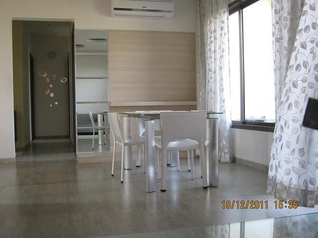 Dining in the show flat of  Kolte-Patil Life Republic, Marunji - Hinjewadi, Pune 411 057