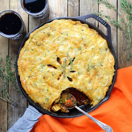 Cottage Beef Pot Pie with Potatoes and Parsnips + $700 Amazon Giveaway! | Taste And See