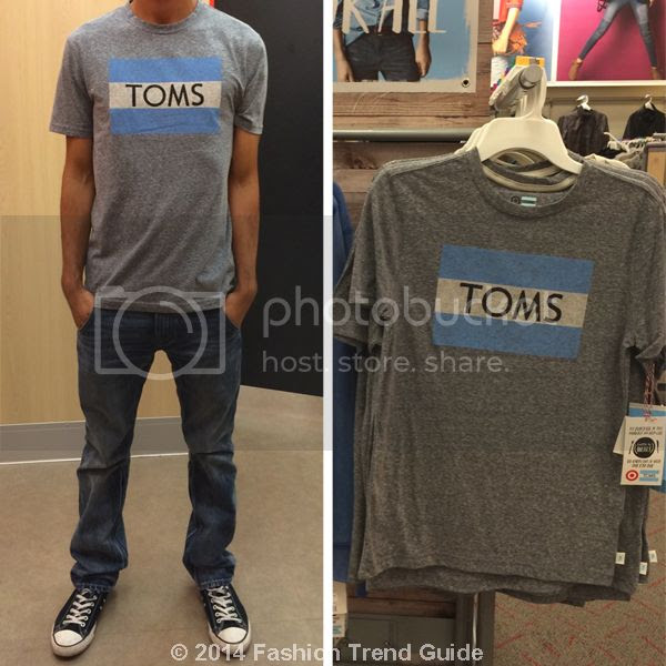 Toms for Target-Mens Toms Tee