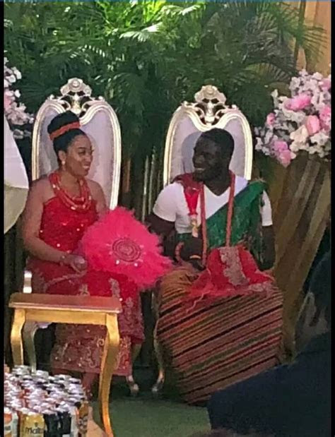 First Pics From Traditional Wedding Of Carissa Sharon