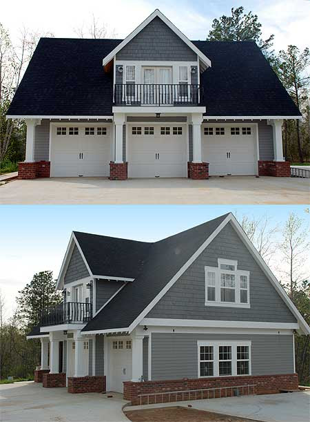 Double Duty 3-Car Garage Cottage w/ Living Quarters (HQ ...