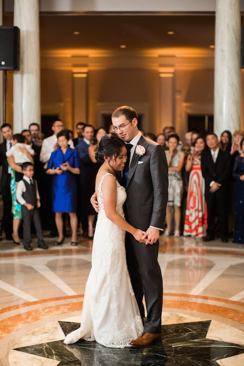 Carnegie Institution for Science Elegant Summer DC Wedding Reception