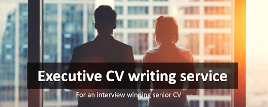 Executive CV writing service for high performing professionals