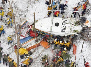 Japão: Nove morrem em colisão de helicóptero de resgate contra montanha