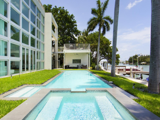 Lil Wayne's Miami Party Pad Has A Pool Full of Sharks