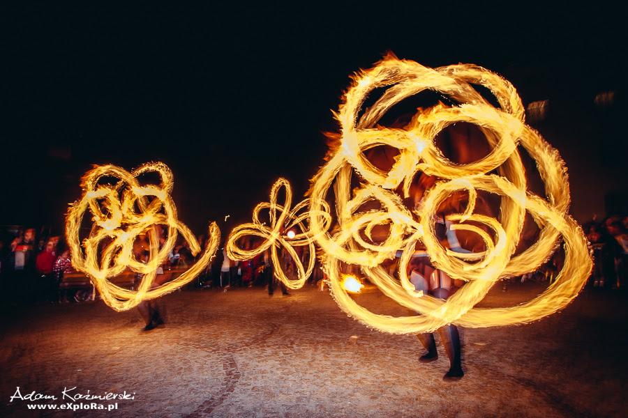 Noc Muzeów 2014r. - Koszalin - fire show grupy JumpFire