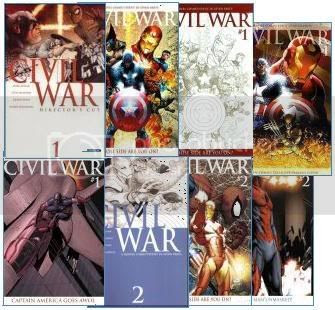 Capas Variantes de Civil War