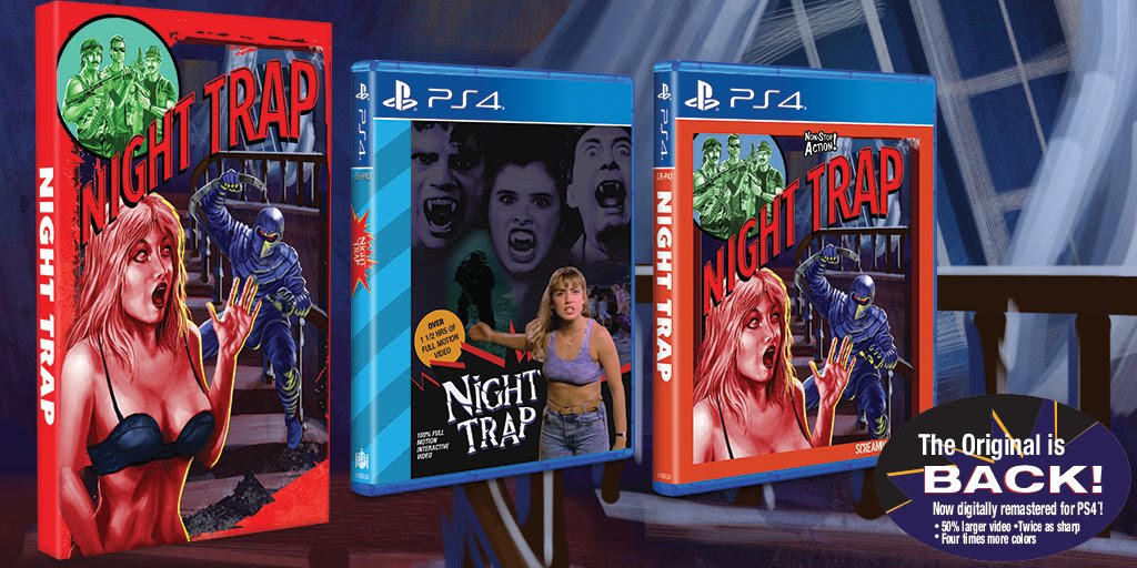 You'll be able to relive Night Trap on August 15 screenshot