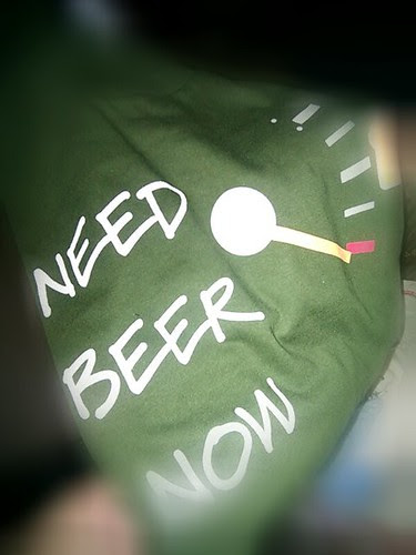need beer now T by lhuga