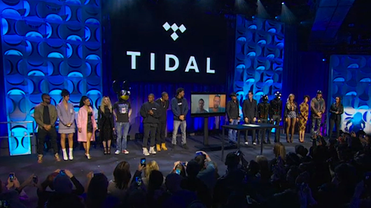 Jay-Z and Friends Relaunch Music Streaming Service Tidal