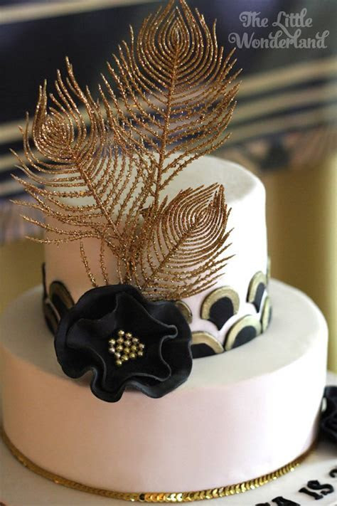 Great Gatsby Birthday Party   Gorgeous Cakes!   Great