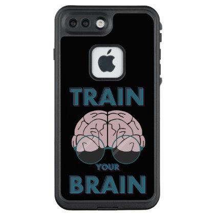 Train your brain LifeProof FRĒ iPhone 7 plus case