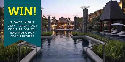 WIN! 3-Day 2-Night Stay + Breakfast for 2 at Sofitel Bali Nusa Dua Beach Resort | VIP DEALS AND DISCOUNTS Worldwide