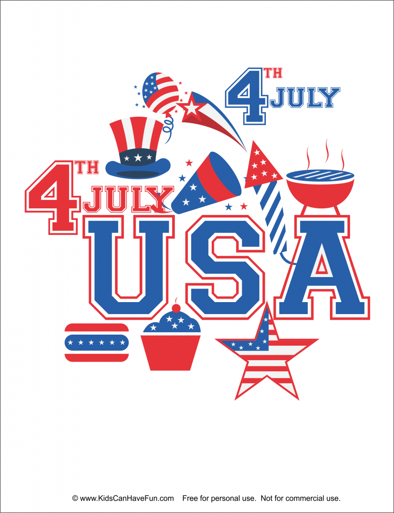 4th Of July Diy Ideas T Shirts Flags Party Photo Props