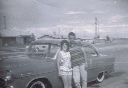 50 Years Marriage. When We Were Young.