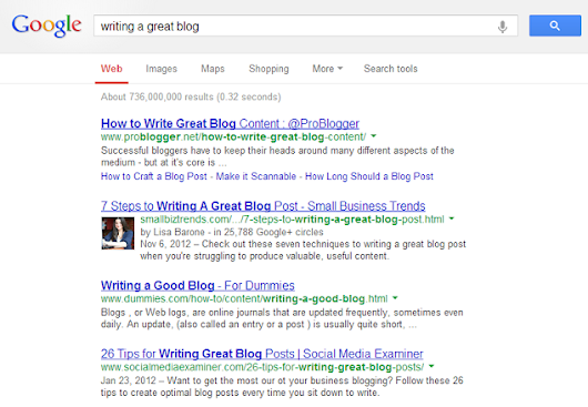 How Google Authorship Changes the Rules for your Search Results - Ariad Partners