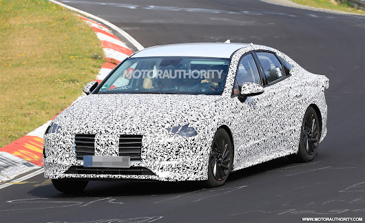 2020 Hyundai Sonata spy shots and video