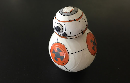 Make This Mini Star Wars BB-8 Ball Droid with a Hacked Sphero - Make: