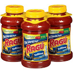 Ragu Old World Style Pasta Sauce, Traditional - 3 pack, 45 oz bottles