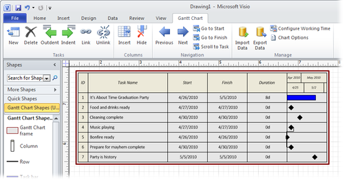Microsoft Project 2010 Importing And Exporting Data Part 4 Working With Project And Visio Microsoft Powerpoint Microsoft Excel Microsoft Visio Microsoft Word Microsoft Access Microsoft Outlook Microsoft Onenote Microsoft Infopath Tutorials