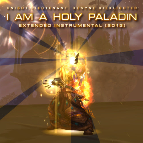 I AM A HOLY PALADIN: Extended Instrumental (2013) by KevyneShandris