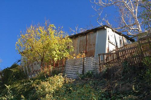 shack at Agias Moni