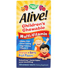 Natures Way Multi-Vitamin, Children's Chewable, Chewable Tablets, Natural Orange & Berry Flavors - 120 tablets