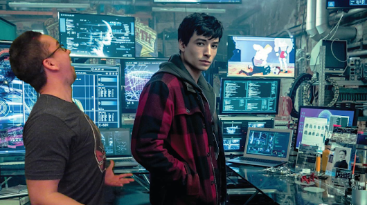 Barry Allen 'Flash Cave' Easter Eggs and New Justice League Banner - The Film Junkee