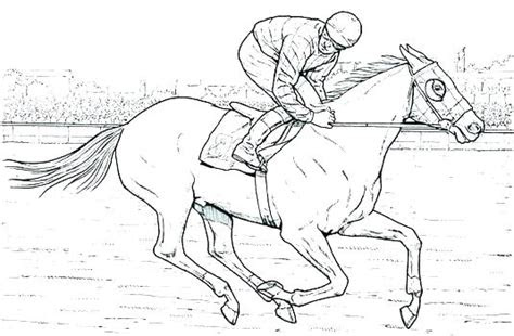 coloring pages  realistic horses  getdrawings