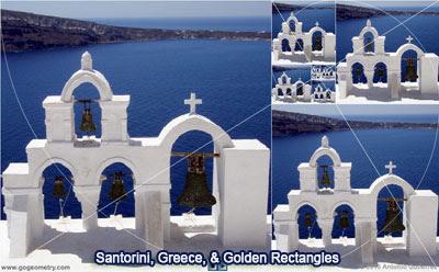 Santorini, Greece and the Golden Rectangle