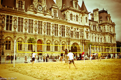 Beach volley by Jean-Fabien - photo & life™
