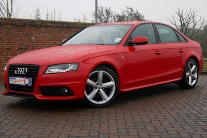 Audi A4 2010 Red