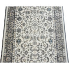 Dean Stratford Keshan Ivory Custom Length Carpet Rug Runner - Purchase by The Linear Foot