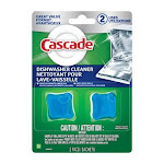 Cascade Fresh Scent Pods Dishwasher/Disposal Cleaner 2 pk - Case Of: 7; Each Pack Qty: 2; Total Items Qty: 14