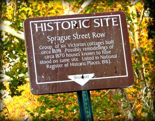 Sprague Srteet Row by Nadine Charity