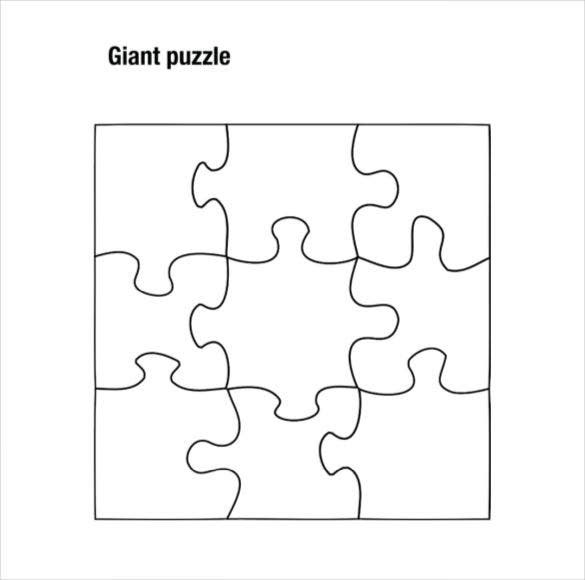 Puzzle Piece Template 19+ Free PSD, PNG, PDF Formats Download ...