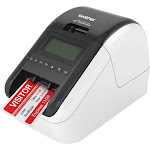 Brother - QL-820NWB Label Printer - White/Black