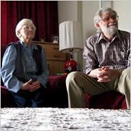 Moise G. Balan si sotia Steriana, Romanian refugiati politic traind in Manhattan, au fost exilati in 1981 de Ceasca.