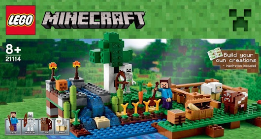 Photos of new Lego Minecraft sets leaked