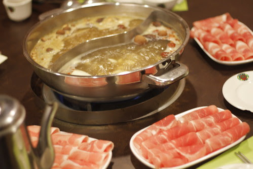 Delicious steamboat