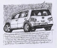 EDM challenge # 60 = draw an automovile