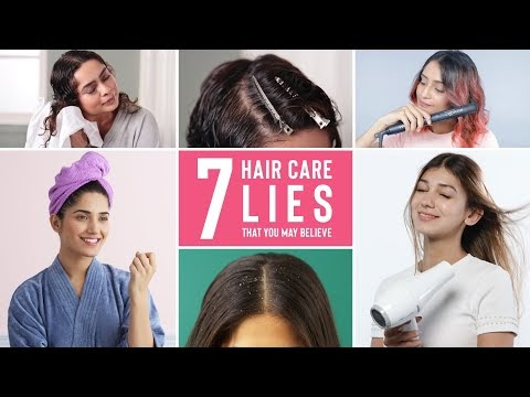 7 Lies About Hair Care You Probably Believe | Dry Hair, Dandruff, Hair