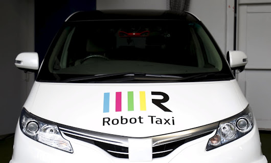 Driverless robot taxis to be tested in Japanese town | World news | The Guardian