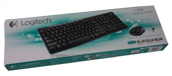 Devibat Information Logitech Wireless Combo Mk270 Paket Keyboard Mouse Wireless Murah Berkualitas