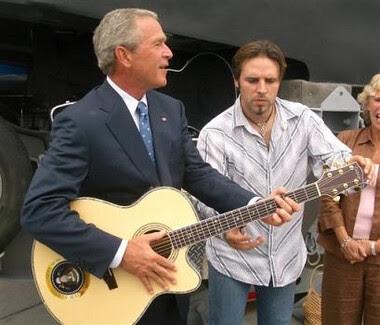 Bush on vacation