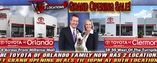 Toyota of Clermont | New Toyota dealership in Clermont, FL 34711