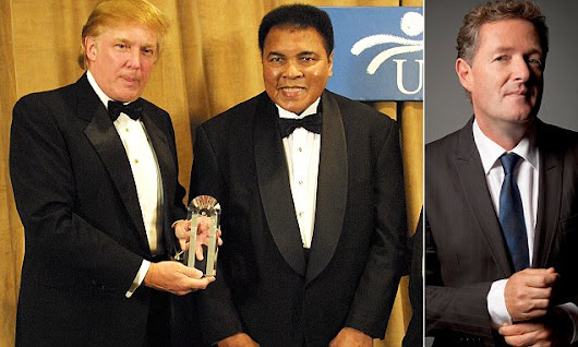 PIERS: Ali WAS a racist who repented, Trump ISN'T a racist