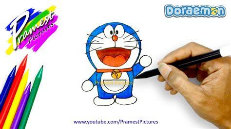 doraemon  menggambar  mewarnai gambar kartun